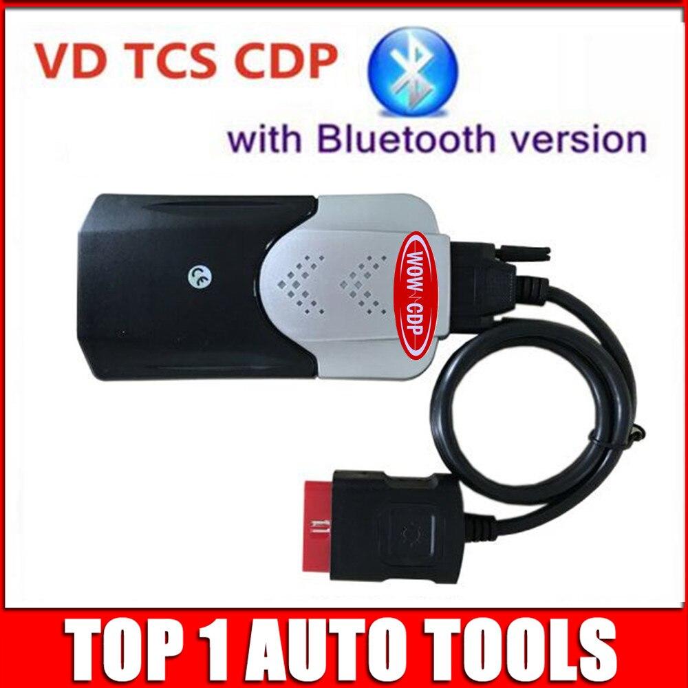 Prix pour Nouvelle Forme cdp Bluetooth 2015. R3/2014R2 VD TCS CDP pro plus Keygen Activateur Multi-langue auto obd2 de voiture camion de diagnostic outils