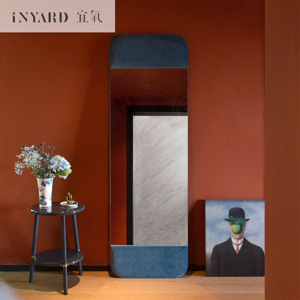 [InYard] plus dressing miroir/super velours miroir de plancher/designer sans cadre plein-corps miroir cadre