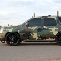PVC Self adhesive Army Green Brown Black Camouflage Car Sticker Wrap Vinyl Film Camo Automobiles Motorcycle Decal