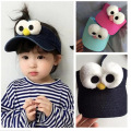 Big Eyes Children Hats Spring summer Baby Caps Boy cool denim Cap Girl Kid Beanies Hip Hop headwear Newborn Photography