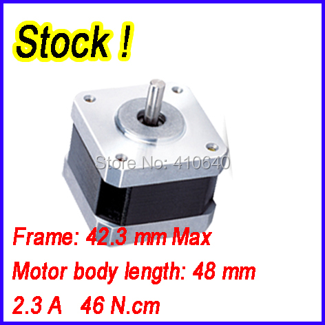 In Stock! Free Shipping 3D Printer Step Motor 17HS8403 Equal to 42HS4823A4 2.3A 46 N.cm With 4 Wires 1.8 Degree flsun 3d printer big pulley kossel 3d printer with one roll filament sd card fast shipping