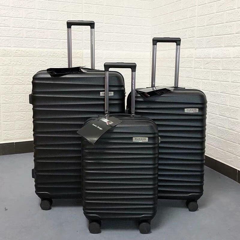 Bagaj ve Çantalar'ten Tekerlekli Bagaj'de GraspDream Erkekler Iş 20/24/28 boyutu Lüks çanta, yüksek kalite, moda ABS Haddeleme Bagaj Spinner marka Seyahat Bavul'da  Grup 1