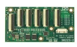 38212-2 Auvidea 6 Csi Tx2 Chills And Pains 2 Camera J-20 Nvidia Jetson Tx1