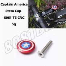 """Велосипедная верхняя крышка руля с винтовой крышкой для гарнитуры Капитан Америка 28,6 мм 1 1/"""" рулевая вилка для дороги и MTB"""