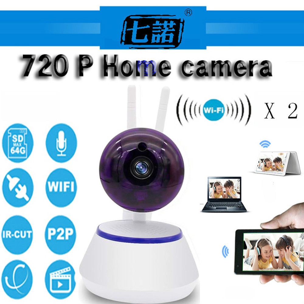 Seven Promise 1.0MP 720P Home Security Network CCTV Wifi Camera Megapixel HD Wireless Digital Ip Camera IR Infrared Night Vision only a promise