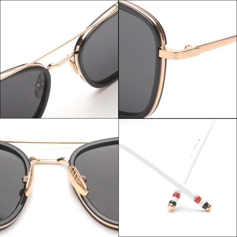 Thom Browne Sunglasses  aliexpress com banstone new retro square sunglasses men