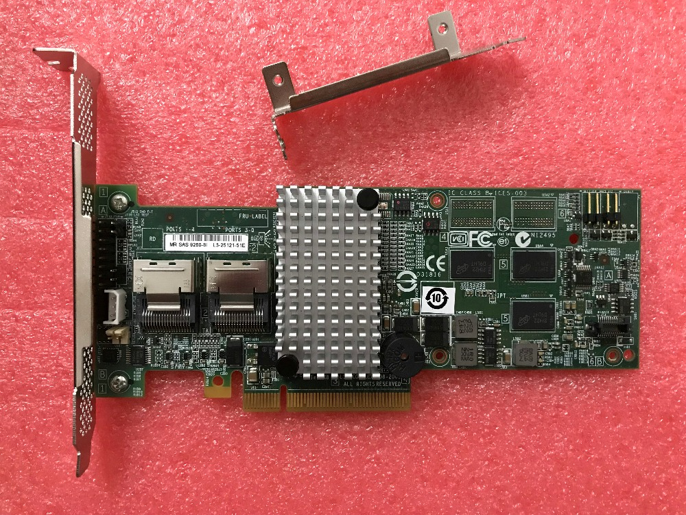 RaidStorage Avago LSI MegaRAID SAS 9260 8i 8 port 256MB cache SFF8087 6Gb RAID0 1 5