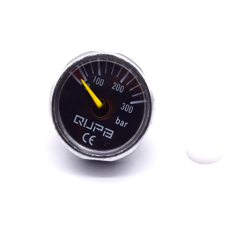 Airforce Pump Valve 25mm M10x1 High Pressure Gauge 1 40MPA/300BAR/400BAR/5000PSI/6000PSI
