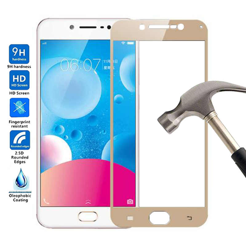 2.5D Full Cover Tempered Glass For VIVO Y67 Screen Protector For VIVO Y67 Tempered Glass film