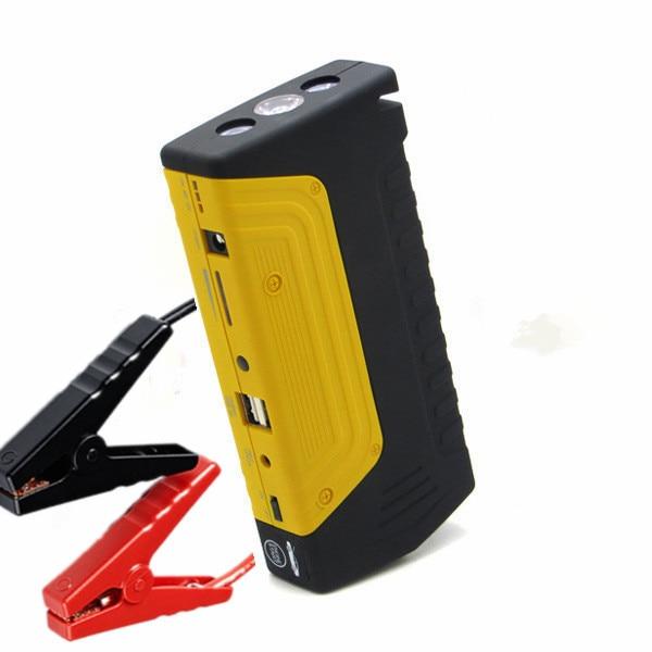Latest Car Emergency Start Battery Supply Dual USB Car Jump Starter Mobile Phone Laptop emergency Power Bank SOSLight