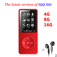 Ruizu X02 Mp 3 Player Mini MP3 Player With Built In Speaker 1 8 In Screen