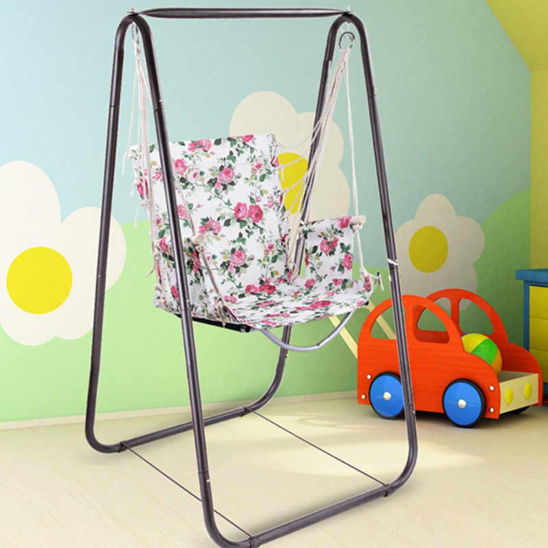 Всегда я обновления патио Спальня общежития на верранду гамак веревка гамак кресло спицей стул для сидения для школьного общежития