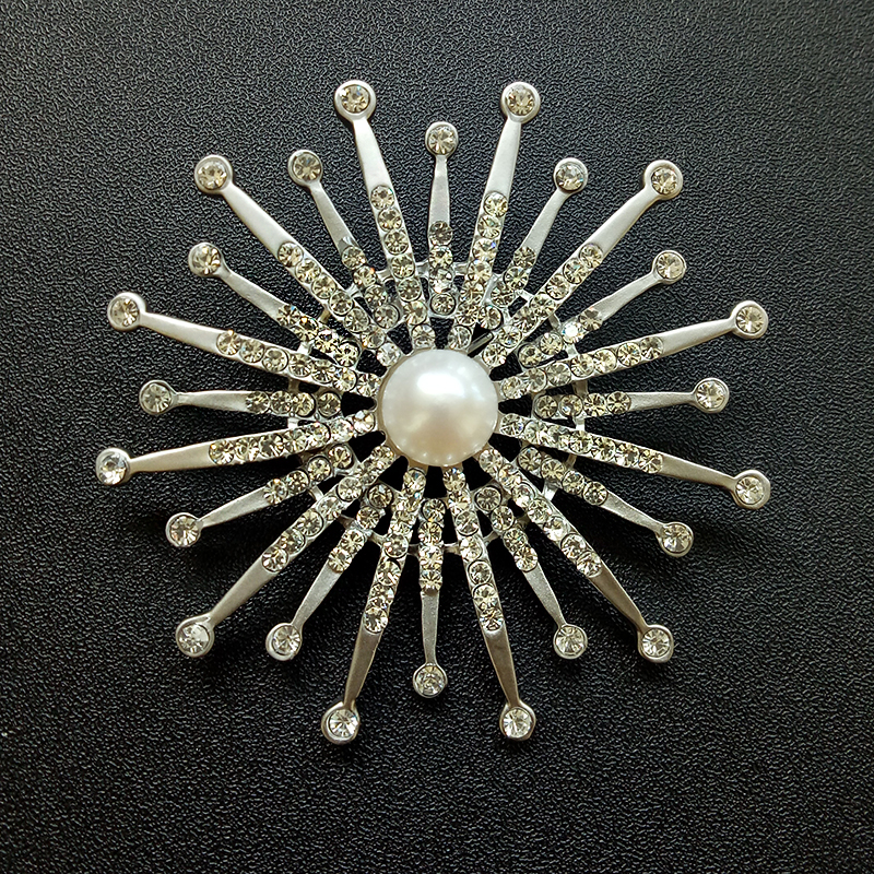 2019 Neuestes Design Nymph Perle Brosche Schmuck Süßwasser Perle Brosche Große Broschen Marke Luxus Süßwasser Perle Für Hochzeit Shz202 GüNstigster Preis Von Unserer Website