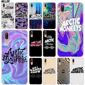 MLLSE Ártico monos arte moda funda transparente para Huawei P30 P20 P10 P9 P8 Lite 2017 P30 P20 Pro Mini P Smart Plus cubierta caliente