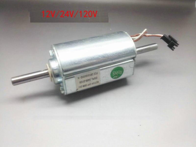 12v 120v 30w 65w Permanent Magnet Dc Motor Dual Ball