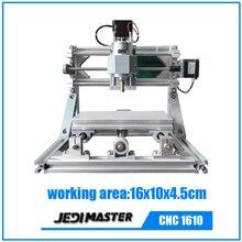 Máquina DEL CNC 3 Ejes CNC 1610 GRBL DIY Pcb Pvc conjunto completo de piezas de Madera De Talla De Madera Del Router Fresadora partes