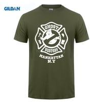 GILDAN 100% Cotton O-Neck customised T-shirt New Arrivals 2017 Men'S Fashion Ghostbusters 80S Movie Design T Shirt