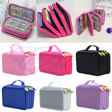 Portable Colors Drawing Sketching Pencils Pen Case Holder Bag for 72Pcs Pencils Better school supply stationery W15