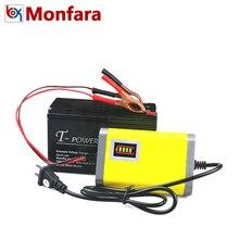 Универсальный 12 В 2A Moto Батарея Зарядное устройство светодиодный свет Дисплей нам ЕС Plug Smart автомобильной мотоцикла адаптер Fast Charge автомобиля батареи