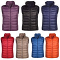 New Fashion Winter Autumn Women Vest Duck Down Vests Waistcoat Outwear