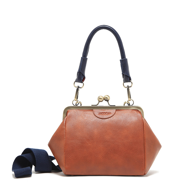 3 Colors MICOCAH Brand New Vintage Bags Retro PU Leather Tote bag Women Messenger Bags Small Clutch Ladies Shoulder Bags GN40005