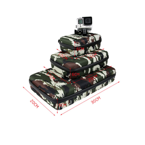 Image 5 - Portable Storage Bag Case Protective EVA Box For GoPro Hero 6 5 4 3+ Xiaomi Yi Sjcam Action Camera Accessories Camouflage Bag