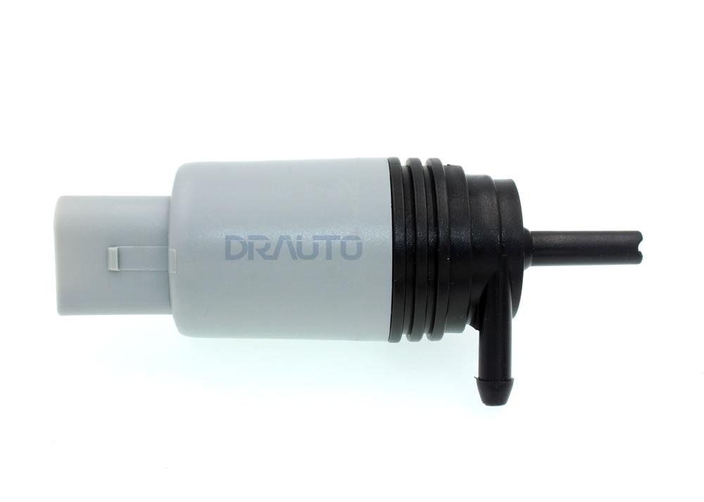 Windshield Washer Pump For BMW 67126934159, 6712730258, 67128377612 w/ Grommet