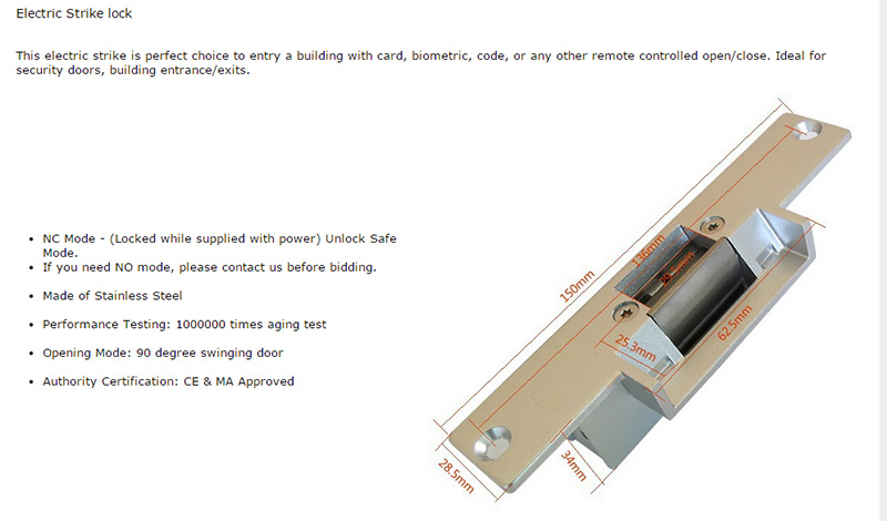 V70F-520 1V3 + RFID access system-5