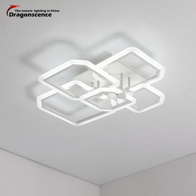 Dragonscence Minimalist Modern led ceiling light for living room bedroom lighting Home Decorative Rectangle ceiling lamp