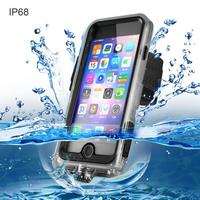 For Iphone 6 7 6S PLUS Case Swimming IP68 Waterproof Soft Silicone Full Protection Cover For iPhone X Phone Shell