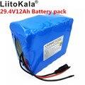 HK Liitokala 12Ah 7s6p 29 4 V литиевая батарея электрического велосипеда 29 4 V литий-ионный аккумулятор не включает зарядное устройство 29 4 V