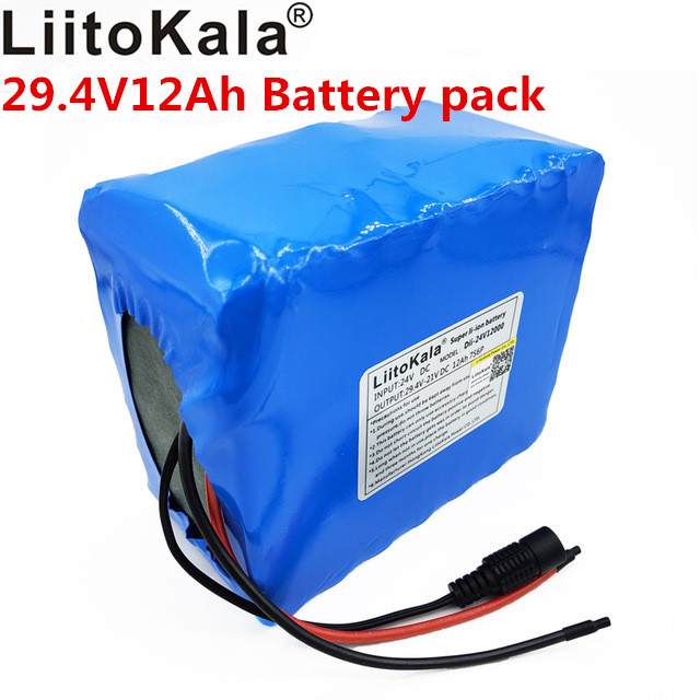 HK Liitokala 12Ah 7s6p 29.4V electric bicycle lithium battery 29.4V lithium ion battery does not include charger 29.4VHK Liitokala 12Ah 7s6p 29.4V electric bicycle lithium battery 29.4V lithium ion battery does not include charger 29.4V