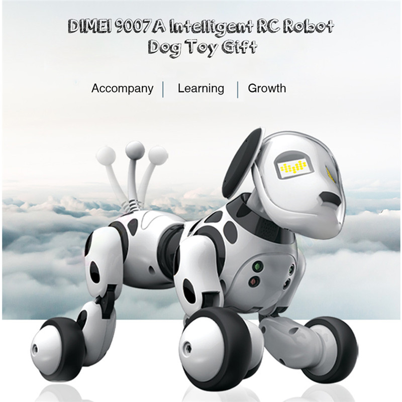 Wireless Remote Control Smart Robot Dog Intelligent 2.4G Talking Robot Dog Toy Kids Toy Electronic Pet Birthday Gift 2 4g wireless remote control smart dog electronic pet educational children s toy dancing robot dog without box birthday gift