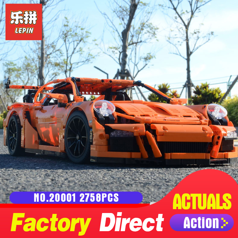 Lepin 20001 20001B Technic Series Compatible With 42056 Super Racing Car Set Building Blocks Bricks Funny Toy Car Model Set Gift
