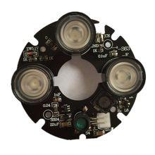 3 массива ИК Светодиодный точечный светильник инфракрасный 3x ИК светодиодный щит для камер видеонаблюдения ночного видения(диаметр 53 мм