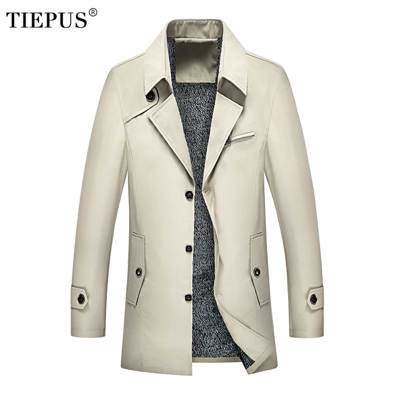 New Spring Autumn Men s Coats Windbreaker Jackets Male Brand Winter Casual Hooded Trench Army Green