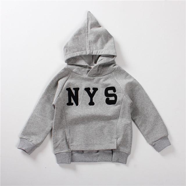 2017 Nueva Otoño Invierno Del Bebé Sudaderas Con Capucha 1-4 Años ropa Para Niños Suéter de Cachemira Niños Niñas Sombrero de Mago Pullover