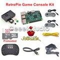 16 ГБ RetroPie Игровой Консоли Комплект с Raspberry Pi 3 Модель B SNES Контроллеров с 5 В 2.5A ЕС/США/ВЕЛИКОБРИТАНИЯ/AU Питания