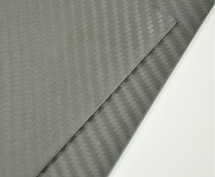 1pcs Matte Surface 3K Plain Weave 100% Carbon Fiber Plate Sheet 300x500x1.6mm 1sheet matte surface 3k 100% carbon fiber plate sheet 2mm thickness
