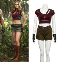 Takerlama Jumanji Welcome To The Jungle Cosplay Martha Costume Halloween Christmas Game Cosplay Adult Women Costume