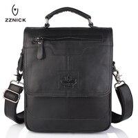 OU BA SHU 2016 Men S Business Bag Brand Genuine Leather Male Vintage Shoulder Bags Luxury