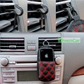 1 pc Car Air Vent Mobile Phone Gadget Pen Cartões Titular Suporte Clipe Montagem Dock Auto Acessório