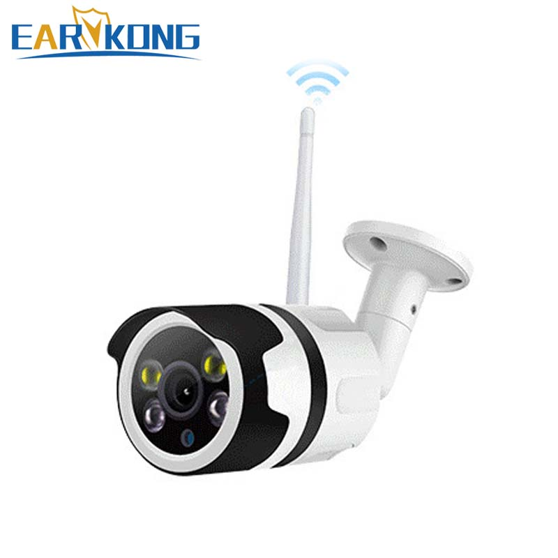 Outside Waterproof Street Camera Wifi Camera Compatible With Android IOS Phone APP 720P 1080P option