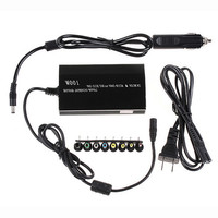 High Quality In Car DC Charger Notebook AC Adapter Power Supply 100W Universal US Plug For