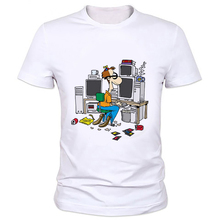 Funny 3D Geek Everyday life T-shirt for men/women monsters print animal t shirt geek shirts top tees 59-15#