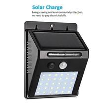 30/48 LED Solar light Solar Power PIR Motion Sensor Wall Light Outdoor Waterproof Energy Saving Street Garden Security Lamp str недорого