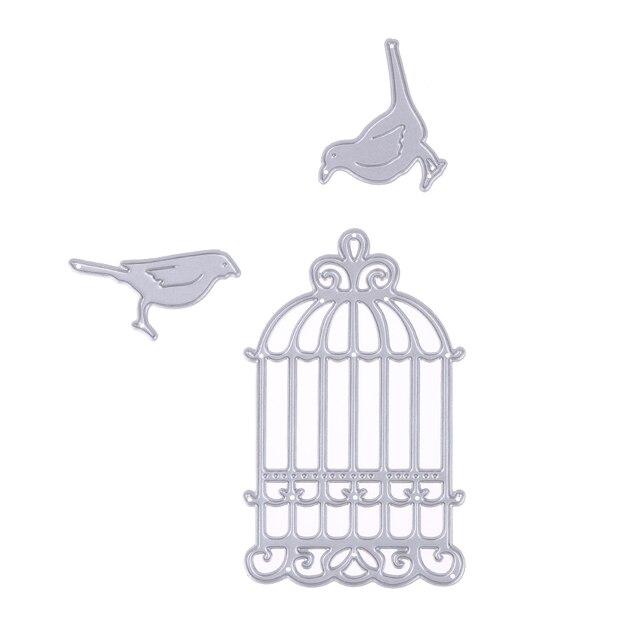 modele oiseau scrapbooking