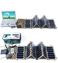Charger com 5 e USB Saída de Carga Bateria para Caminhadas 39 W 18 V Portable Folding Painel Solar DC Dupla DA Viagens Camping