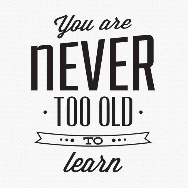 Hot Sale Removable Home Decor Decals Youu0027re Never Too Old To Learn Wall  Sticker