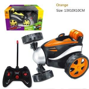 Image 5 - Kaskaderów taniec RC samochodów upadki elektryczne sterowane Mini samochód śmieszne Rolling obrotowe pojazd na kołach zabawki dla prezenty urodzinowe dla dzieci